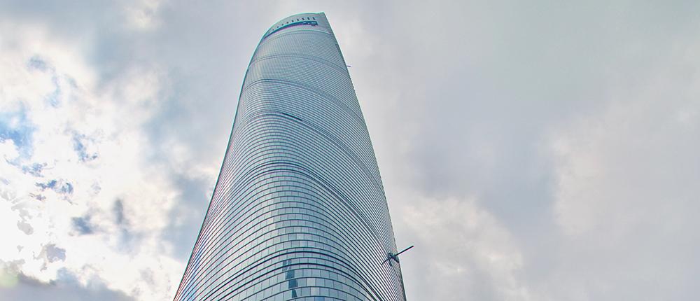 Vision wird Realität Wolkenkratzer