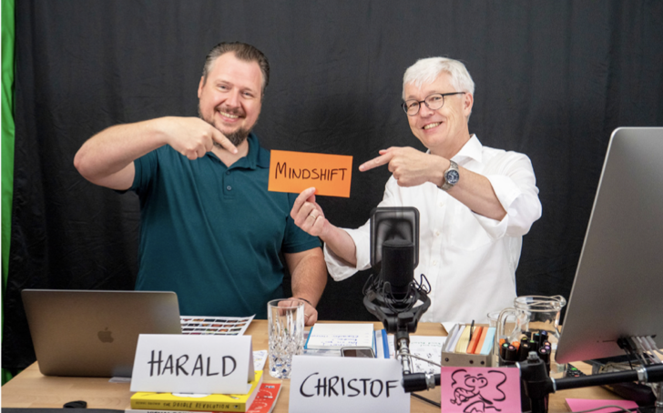 Christof Sauke and Harald Karrer Trainers