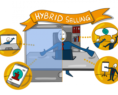 Hybrid Selling Concept