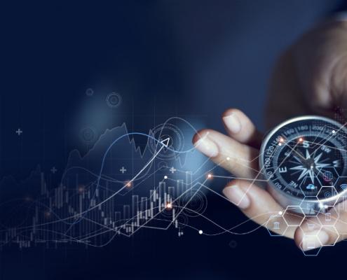 Unternehmensstrategie Kompass