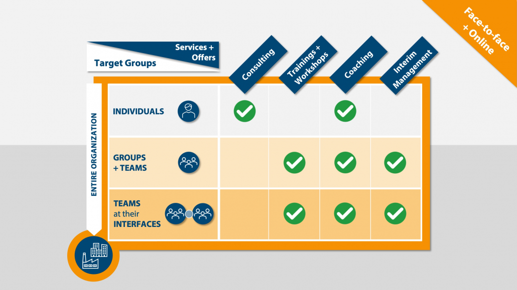 Services, Offers and Target Groups